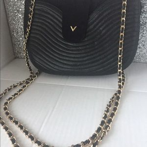 Vintage Valentino Sude and leather bag